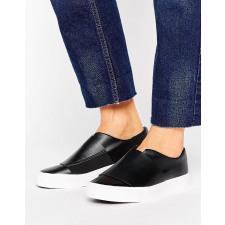 New Look - Schlichte Sneaker zum Hineinschlüpfen