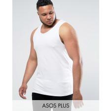 ASOS PLUS - Lang geschnittenes Muskel-Trägershirt
