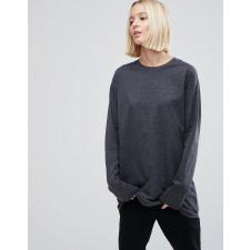 ASOS - Langärmliges, lang geschnittenes T-Shirt