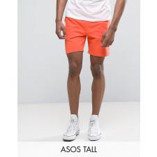 ASOS TALL - Orangefarbene Jersey-Shorts