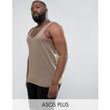 ASOS PLUS - Braunes Trägershirt