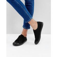 New Look - Schwarze Plimsoll-Schuhe