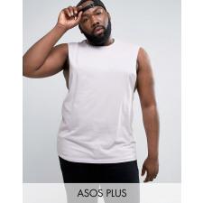 ASOS PLUS - Ärmelloses T-Shirt