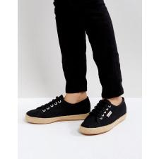 Superga - 2750 - Schwarze Sneaker