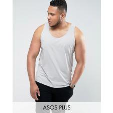 ASOS PLUS - Graues Skater-Trägershirt