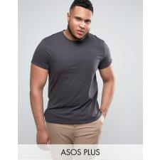 ASOS PLUS - Schwarzes T-Shirt