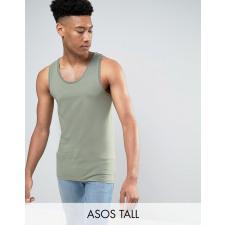 ASOS TALL - Grünes Muskelshirt