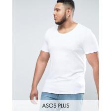 ASOS PLUS - Weißes Muskelshirt