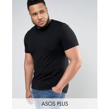 ASOS PLUS - Schwarzes Muskelshirt