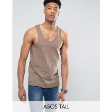 ASOS TALL - Braunes Trägershirt