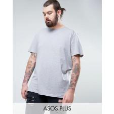 ASOS PLUS - Lang geschnittenes T-Shirt