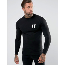 11 Degrees - Schwarzes Sweatshirt