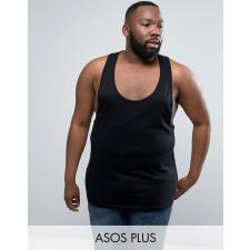 ASOS PLUS - Schwarzes Trägershirt
