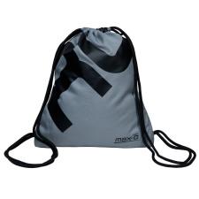 max-Q.com GYM BAG Sporttasche grau