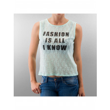 Madonna Frauen Top Fashion Is All I Know