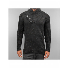 Cazzy Clang Männer Pullover Three Buttons