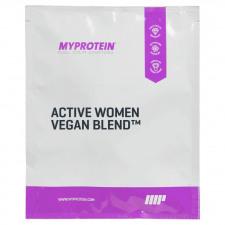 Active Women Veganes Protein™ (Probe) - 25g - Beutel - Natürliche Vanille