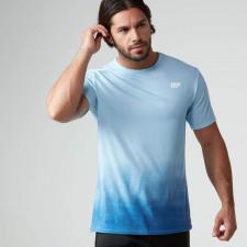 Dip Dye T-Shirt - XXL - Blau