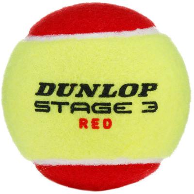 Dunlop STAGE 3 RED Tennisball Kinder