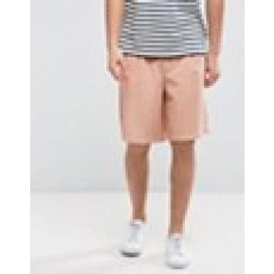 ASOS - Schmal geschnittene Basketball-Shorts in Rosa mit elastischer Taille - Rosa