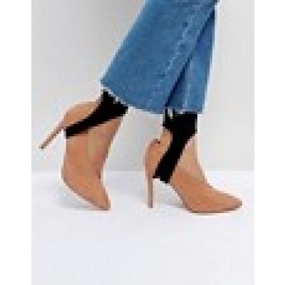 ASOS - Einfarbige Socken mit Steg-Design - Schwarz