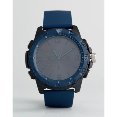 ASOS - Gummierte Oversize-Uhr