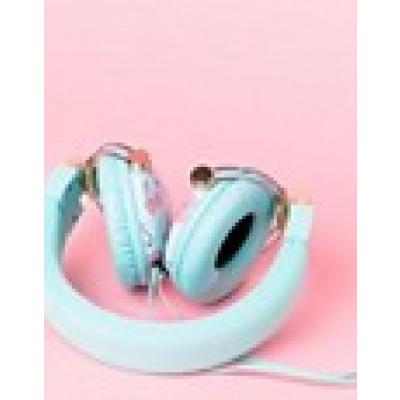 Typo - Reverb - Kopfhörer in gehauchtem Rosa - Mehrfarbig