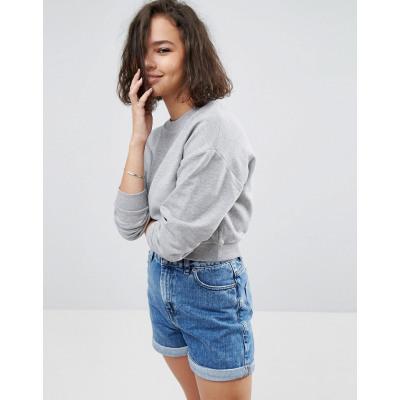 ASOS - Kurz geschnittenes Sweatshirt