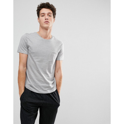 Selected Homme - Gestreiftes T-Shirt