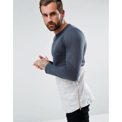 ASOS - Langes langärmliges Shirt