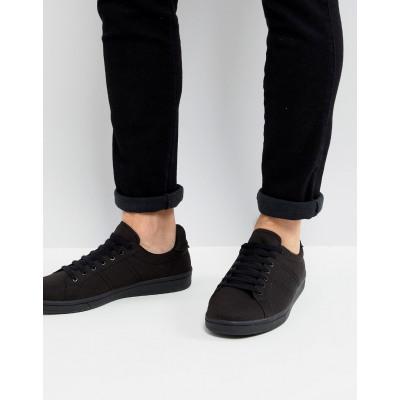 Fred Perry - B721 - Schwarze Sneaker