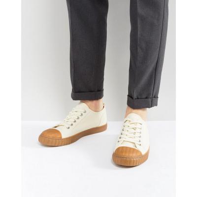 ASOS - Geschnürte Canvas-Sneaker