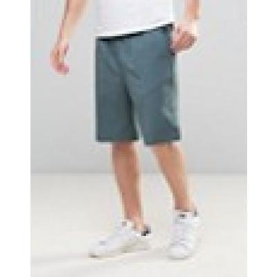 ASOS Tailored - Basketball-Shorts in Blau - Blau