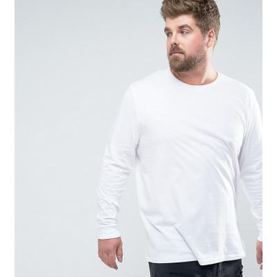 ASOS PLUS - Lang geschnittenes langärmliges Shirt