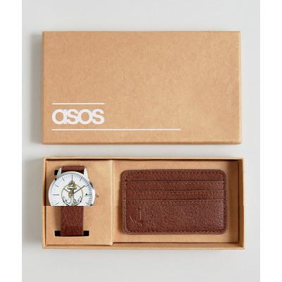 ASOS - Uhr und Kartenetui