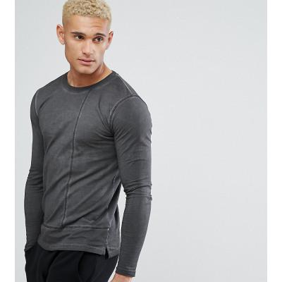 Only & Sons - Lang geschnittenes, langärmliges Shirt