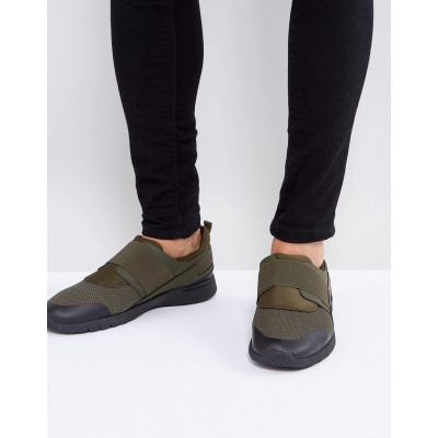 New Look - Khakifarbene Lauf-Sneaker