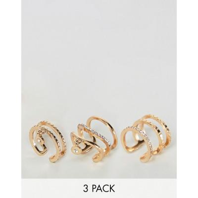 New Look - Multipack Stapelringe