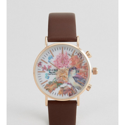Reclaimed Vintage - Inspired Birds - Uhr