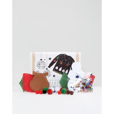 Fizz - Weihnachtlicher Pullover zum Selbermachen, Set