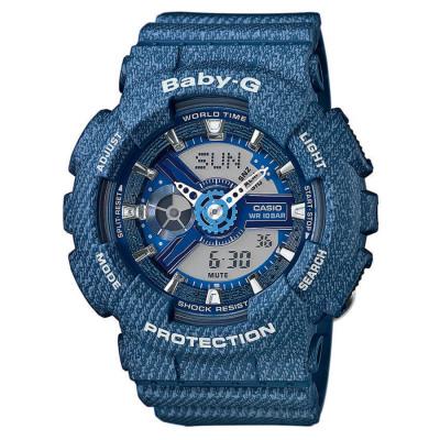 Casio UHR Quarzuhr Damen blau