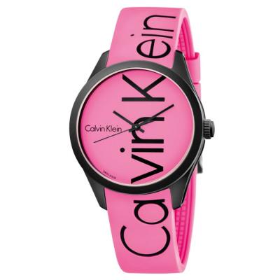 Calvin Klein COLOR Quarzuhr Damen pink