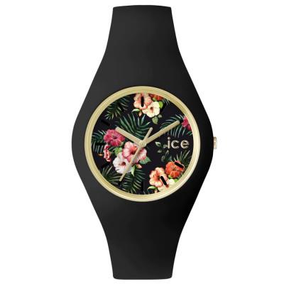 Ice-Watch ICE FLOWER COLONIAL UHR Quarzuhr Damen schwarz