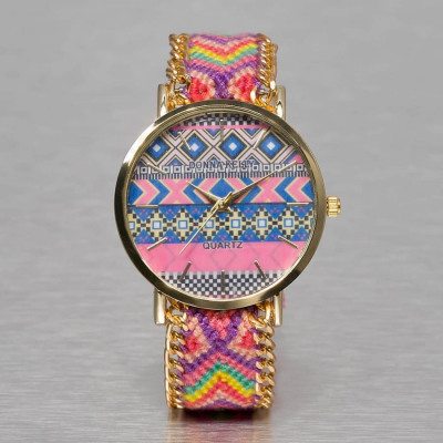 Kaiser Jewelry TEXTIL WATCH Automatikuhr Damen multicolor