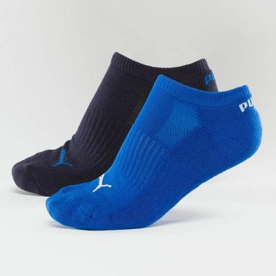 Puma 2-PACK CUSHIONED SNEAKERS Herren blau