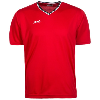 Jako SHOOTING CENTER T-SHIRT Basketballshirt Herren rot-weiß