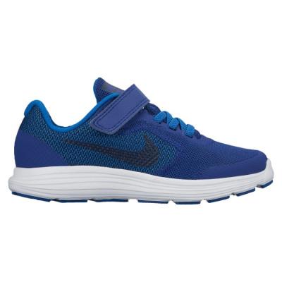 Nike REVOLUTION 3 PS BOYS Laufschuhe Kinder blau