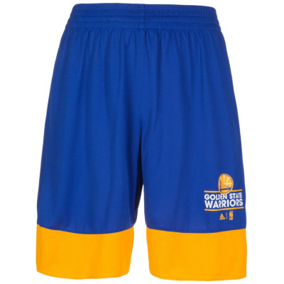 adidas GOLDEN STATE WARRIORS BASICS BASKETBALLSHORT Herren blau-gelb