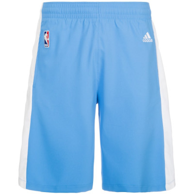 adidas Denver Nuggets Swingman Basketballshort Herren blau-weiß