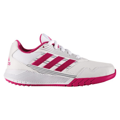 adidas ALTARUN K Laufschuhe Kinder weiß-pink
